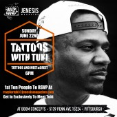 """Tattoos With Tuki"" Tuki Carter Tattoo and Meet & Greet 6/22 (Pittsburgh)"