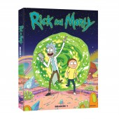 Bring Home Adult Swim's Inter-dimensional Traveling Duo RICK & MORTY 1st Season