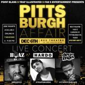 [Event] A Pittsburgh Affair: Boaz, Hardo & Devin Miles LIVE in Concert 12/6