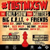 "Check Big K.R.I.T. & Friends For #TOSTMXSW 3/21 & Watch ""Come And See Me"""
