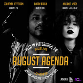 JENESIS Magazine #AugustAgenda Featuring Courtney Jefferson, Baron Batch, & Makayla Wray