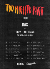 """Cozz, Earthgang, & More Join Bas For The """"Too High To Riot"""" Tour Starting 6/3"""